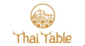 Product image for Thai Table $5 OFF any purchase of $35 or more OR $10 OFF any purchase of $60 or more.