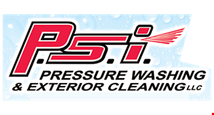 P.S.I. Pressure Washing & Exterior Cleaning logo