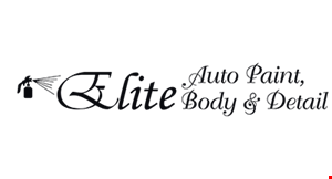 Elite Auto Paint, Body & Detail logo