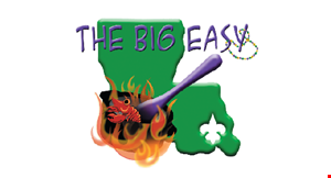Product image for The Big Easy 50% off any regularly priced entree