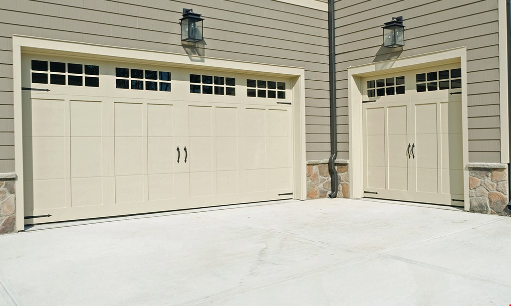 Product image for Garage Doors & More $100 off any new residential door purchase
