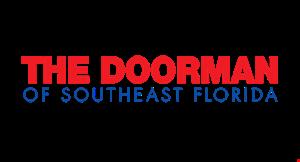 The Doorman of Southeast Florida logo