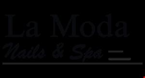 LA MODA NAILS & SPA logo