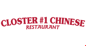 Closter #1 Chinese Restaurant logo