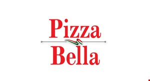 Product image for Pizza Bella $2 OFF any large pie (includes 12 cut Sicilian & Large Specialty Pies).