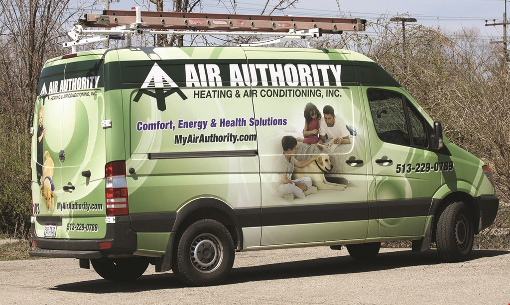 Product image for Air Authority FREE service call with any repair requiring a part.