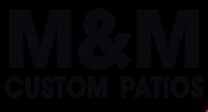 M&M Custom Patios logo