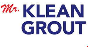 Mr. Klean Grout logo