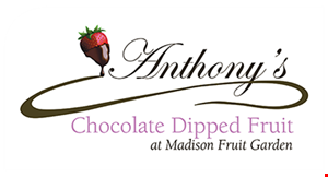 Anthony's Chocolate Dipped Fruit logo