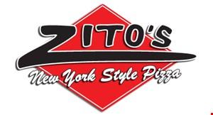 ZITO'S PIZZA NEW YORK STYLE PIZZA logo