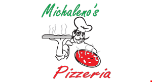 Product image for Michaleno's Pizzeria $3 offany large pizza