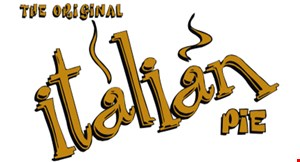 Product image for The Original Italian Pie $4 OFF any purchase of $25 or more.