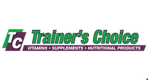 Trainer's Choice Vitamin Supplements & Nutritional logo