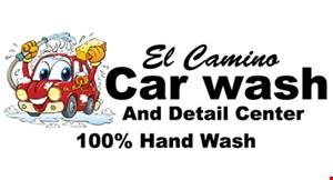 El Camino Car Wash and Detail Center logo