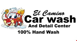 El Camino Car Wash And Detail Center logo