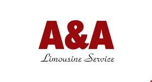 A & A Limousine Service logo