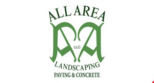 All Area Landscaping Paving & Concrete logo
