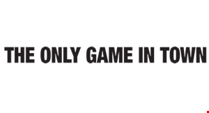 Only Game in Town logo
