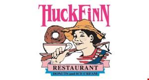HUCK FINN logo
