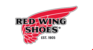 Product image for RED WING SHOES $20 off boots & shoes