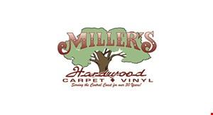 Miller's Hardwood Flooring, Carpet & Vinyl logo