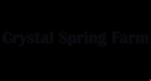 Crystal Spring Farm logo