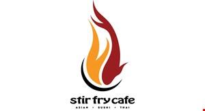 Stir Fry Cafe logo