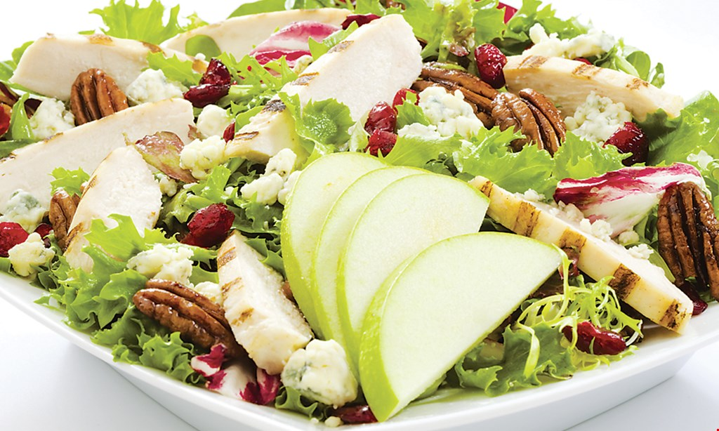 Product image for Saladworks 1/2 Off salad buy one signature salad, get one 1/2 off.