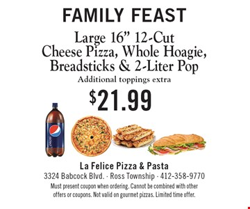 Family Feast: Large 16