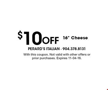 $10Off 16