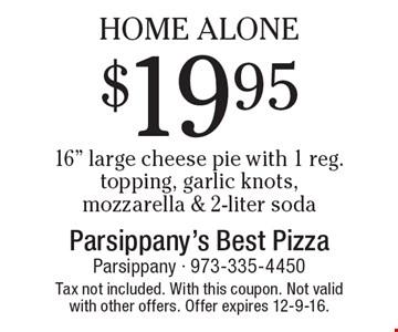 Home Alone $19.95 16