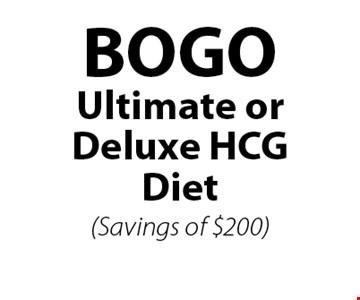 BOGO Ultimate or Deluxe HCG Diet(Savings of $200).