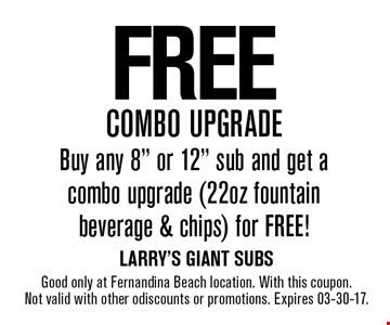 FREE combo upgrade Buy any 8