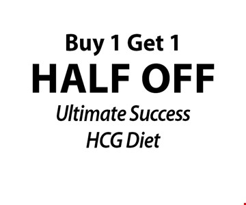 half off Ultimate Success HCG Diet Buy 1 Get 1.