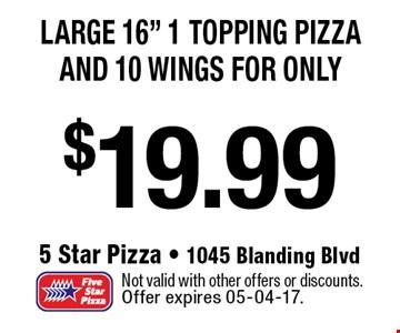 $19.99 Large 16