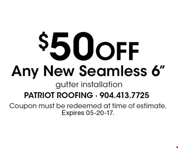 $50 Off Any New Seamless 6