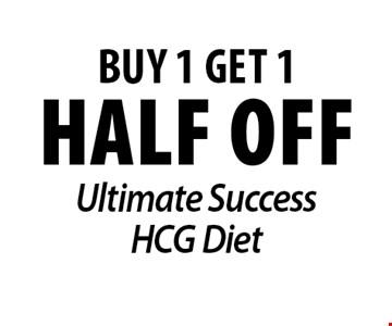 half off Ultimate Success HCG Diet.