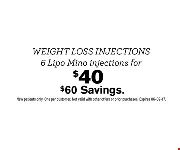 $40$60 Savings.. New patients only. One per customer. Not valid with other offers or prior purchases. Expires 06-02-17.