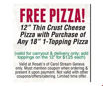 Free Pizza! 12