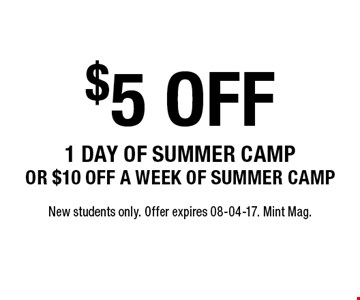 $5 off
