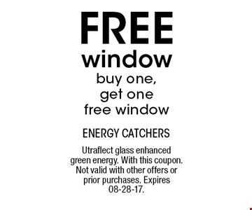 FREE window buy one,