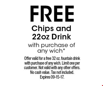FREE Chips and 