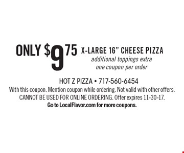 Only $9.75 X-Large 16