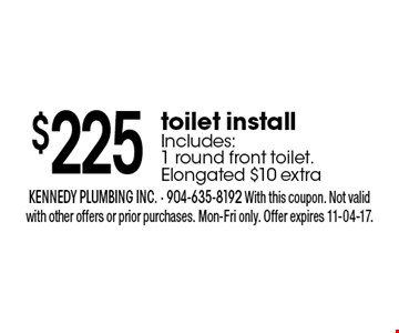 $275 oFF repipe. kennedy plumbing inc. - 904-635-8192 With this coupon. Not valid with other offers or prior purchases. Mon-Fri only. Offer expires 11-04-17.