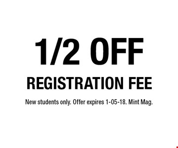 1/2 off
