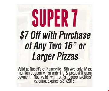 SUPER 7 $7 Off with Purchase of Any Two 16