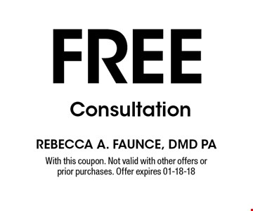free Consultation. With this coupon. Not valid with other offers or prior purchases. Offer expires 01-18-18