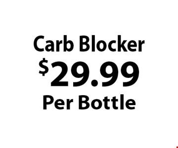 $29.99Per Bottle Carb Blocker.