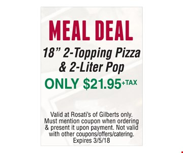 Meal Deal 18