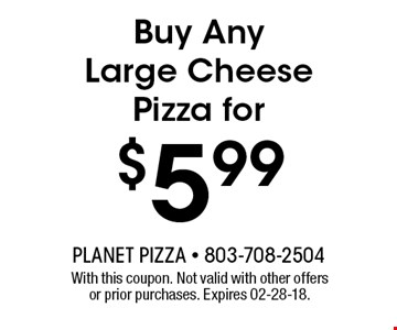 $5.99 Buy Any